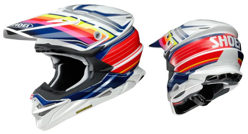 オフロードヘルメット VFX-WR のグラフィックモデル「VFX-WR PINNACLE」がショウエイから5月発売予定 記事1