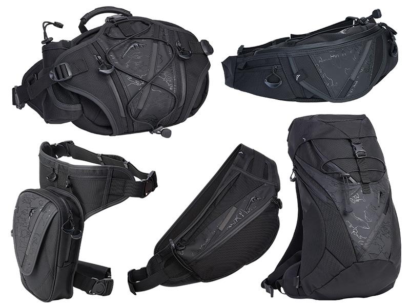 クシタニのバイク用バッグに限定モデル「ブラックアウトシリーズ」5アイテムが登場 メイン