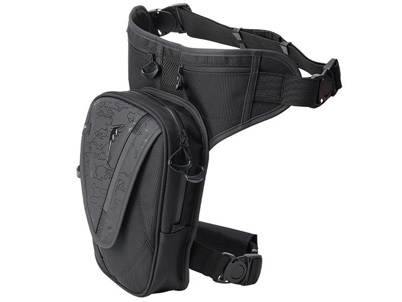 クシタニのバイク用バッグに限定モデル「ブラックアウトシリーズ」5アイテムが登場 記事4