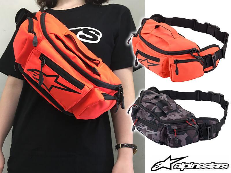 スポーティーなデザインが魅力!アルパインスターズの「KANGA v2 WAIST BAG」に新色追加 メイン