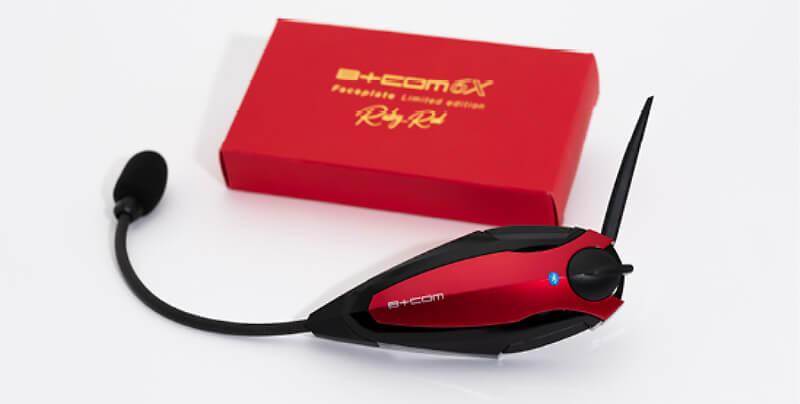 サイン・ハウスが「B+COM ONE」発売1周年を記念し限定カラー「Ruby Red」シリーズを3/15発売 記事4
