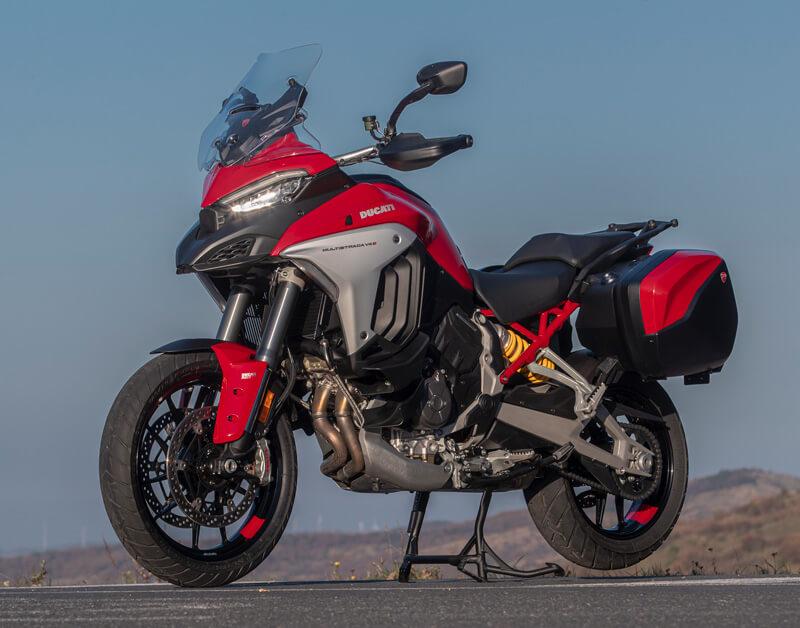 【ドゥカティ】国内仕様「Multistrada V4 S」の発売日は3/13に決定! 記事3