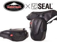 廃タイヤを再利用したバイク用バッグ! SEAL から クシタニとのコラボレーションモデル2アイテムが登場 メイン