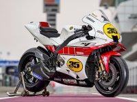 【ヤマハ】ロードレース世界選手権参戦60周年を記念した特別カラーの「YZR-M1」をカタールで公開 サムネイル