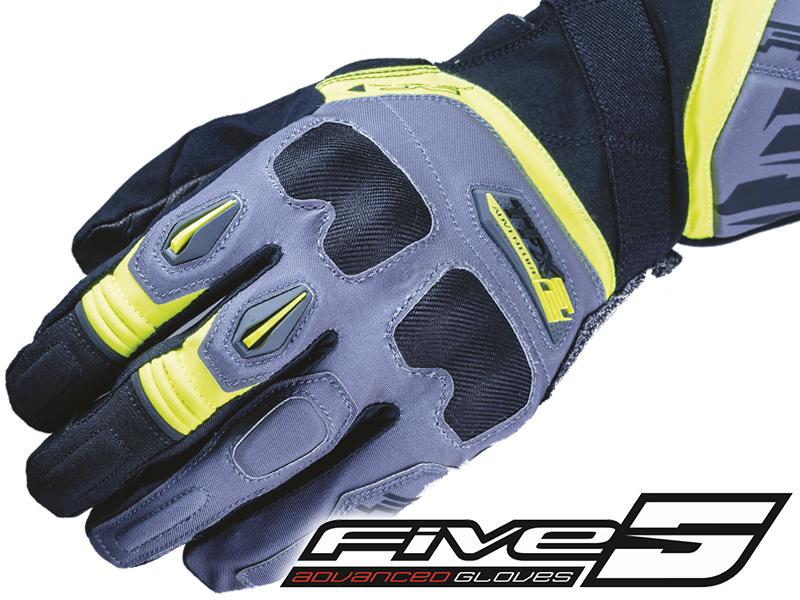 雨のツーリングでも快適! FIVE のツーリング用グローブ「TFX2 WP」が岡田商事から発売 メイン