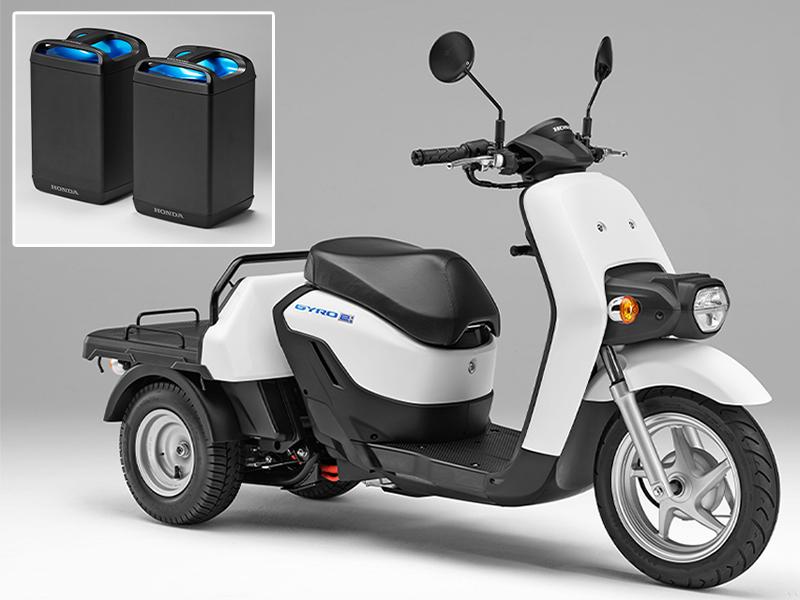 【ホンダ】ビジネス用電動三輪スクーター「ジャイロ e:」を3/25より法人向けに発売 メイン