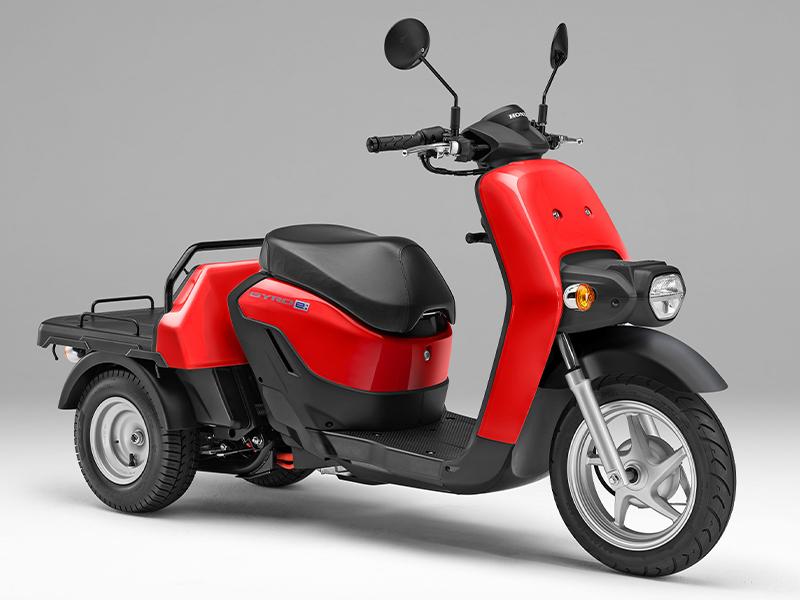 【ホンダ】ビジネス用電動三輪スクーター「ジャイロ e:」を3/25より法人向けに発売 記事2