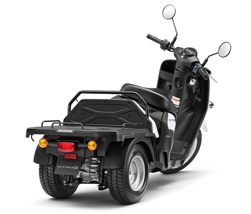 【ホンダ】ビジネス用電動三輪スクーター「ジャイロ e:」を3/25より法人向けに発売 記事5