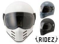 RIDEZ からハードなシルエットのフルフェイスヘルメット「RIDEZ X HELMET」が登場! メイン