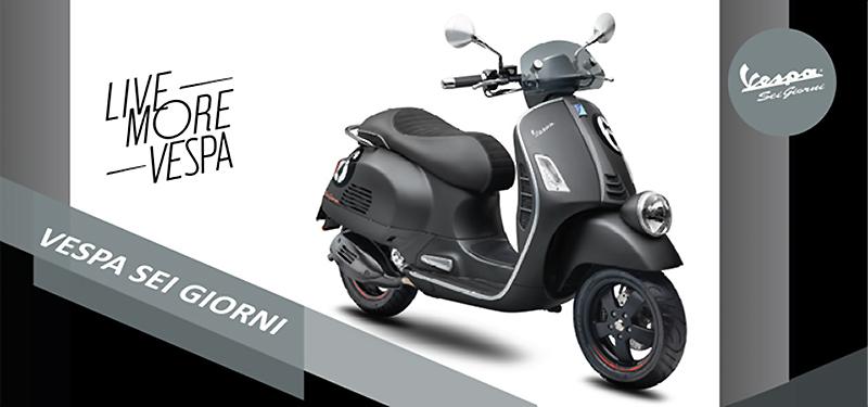 ベスパ Vespa Sei Giorni エディション II 2021年モデル 記事1