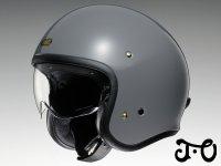 ショウエイの人気のジェットヘルメット「J・O」に新色「バサルトグレー」が追加! 6月発売予定 メイン