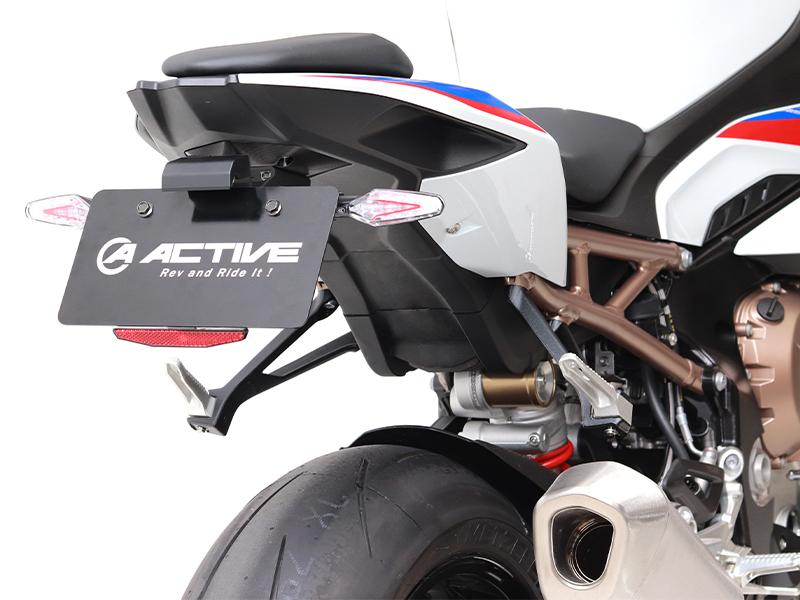 取外しカンタンでサーキット走行に便利! アクティブの「フェンダーレスキット」に S1000RR('19~20)用が登場 メイン