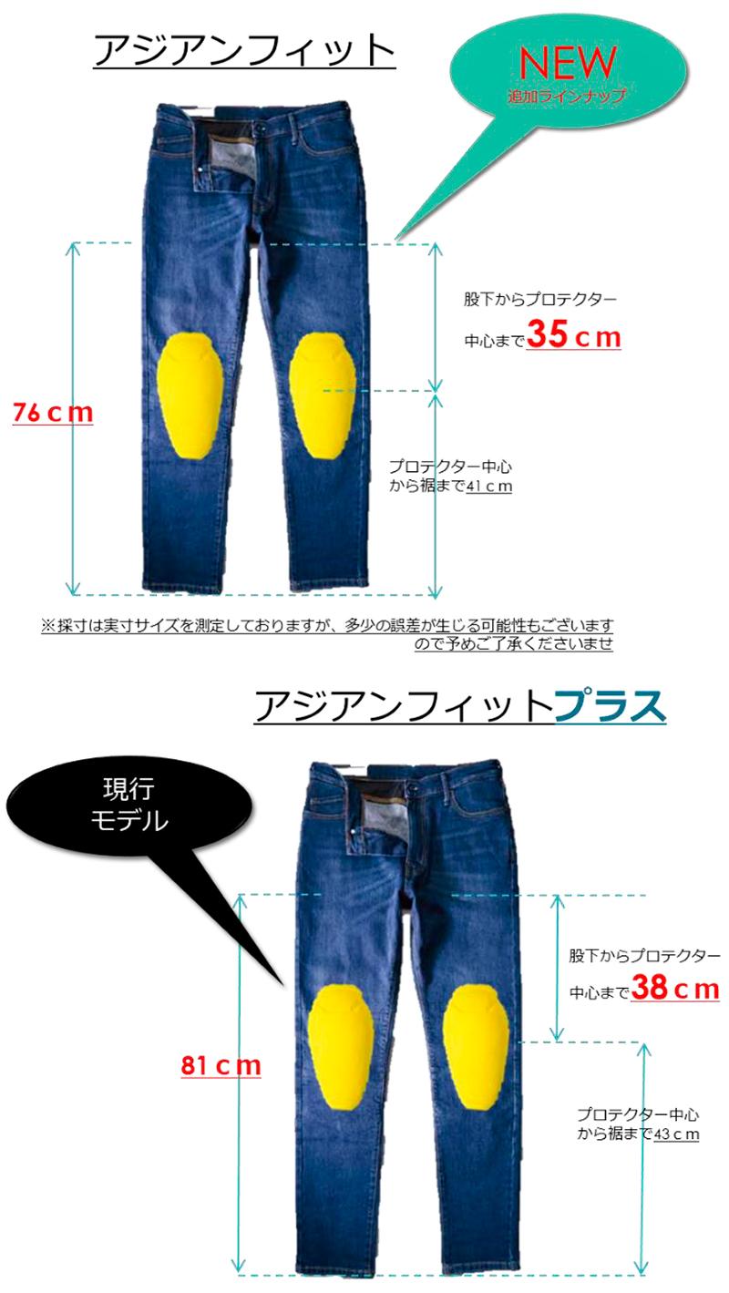 OXFORD のアーマライトジーンズに日本人体型にフィットする「アジアンフィットモデル」が登場 記事1