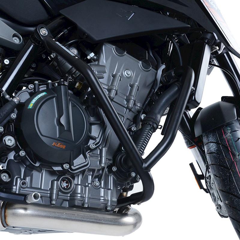 R&G の「アドベンチャーバー」に KTM 890 Duke R/790 Duke 用が登場 記事1