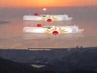 商船三井と九州電力が「さんふらわあくれない」「さんふらわあむらさき」への LNG 燃料供給に関する基本協定書を締結 メイン