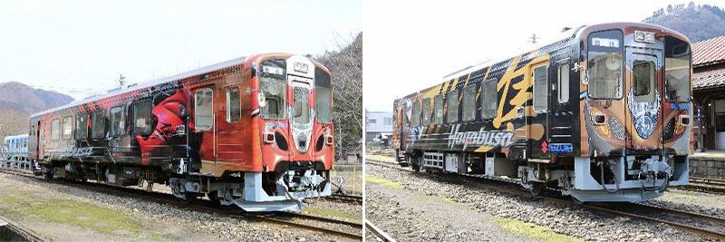 【スズキ】「隼」ラッピング列車の新デザイン決定! 現行デザインは4/9が見納めに 記事1