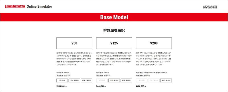 ランブレッタ V200Special V125Special V50Special 記事4