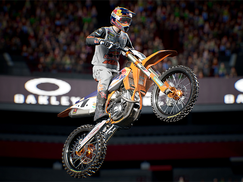 AMA スーパークロスを完全再現したゲーム「Monster Energy Supercross - The Official Videogame 4」が4/15発売予定! 記事1