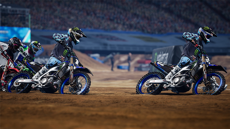 AMA スーパークロスを完全再現したゲーム「Monster Energy Supercross - The Official Videogame 4」が4/15発売予定! 記事3