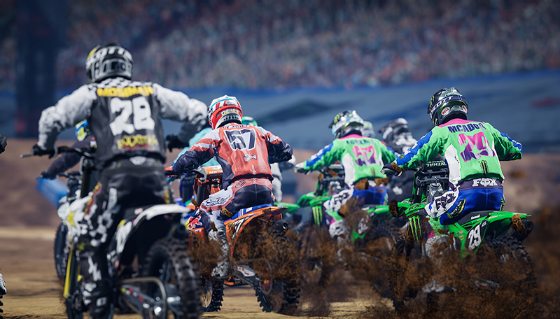 AMA スーパークロスを完全再現したゲーム「Monster Energy Supercross - The Official Videogame 4」が4/15発売予定! 記事4