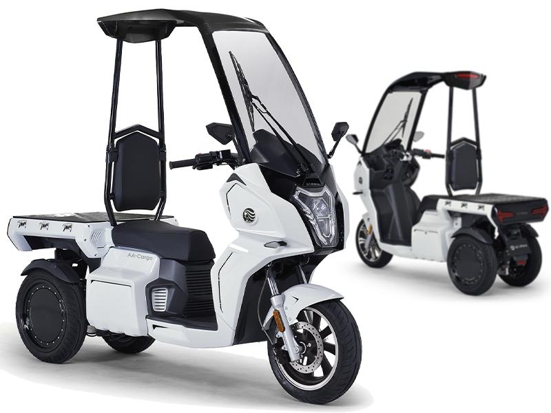 アイディア 電動3輪バイク AAカーゴ α8 AAカーゴ β8」 メイン