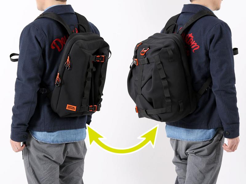 ドッペルギャンガーからウエットスーツ素材のバックパック「モトバックパックメットイン」が登場! 記事2