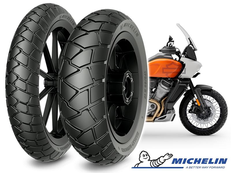 ミシュランの「SCORCHER ADVENTURE」がハーレーのアドベンチャーモデル「Pan America(R)」の純正タイヤに採用 メイン