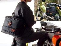 サイドバッグにもなるウェットスーツ素材のショルダーバッグ「モトメディカルバッグ DBT609-BK」がドッペルギャンガーから登場 メイン