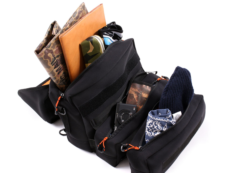 サイドバッグにもなるウェットスーツ素材のショルダーバッグ「モトメディカルバッグ DBT609-BK」がドッペルギャンガーから登場 記事4