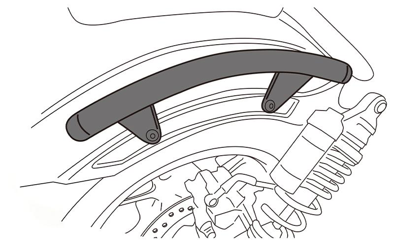 アクティブからレブル1100用のスタイルを崩さないデザインが魅力の「グラブバー」が発売! 記事1