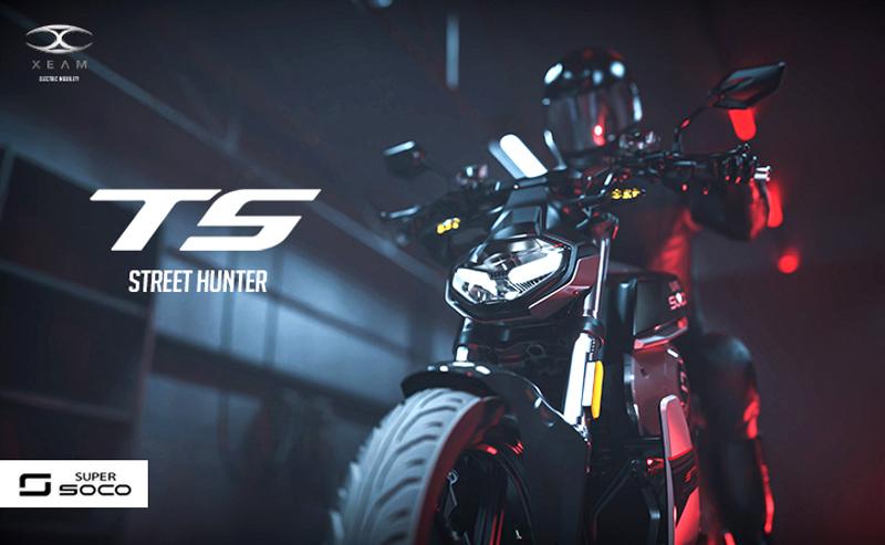 スーパーソコ 電動バイク TS STREET HUNTER 記事1