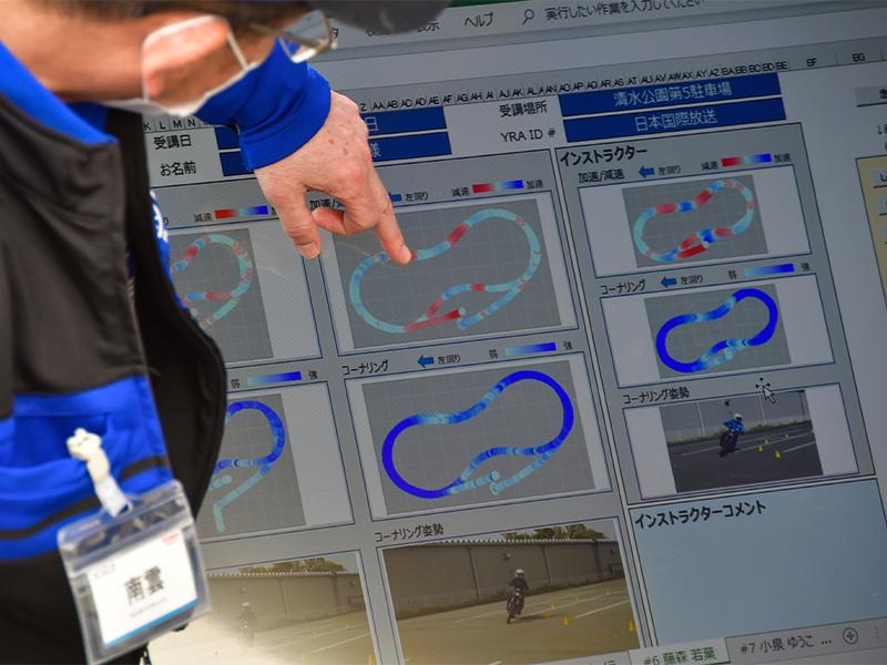 【ヤマハ】「大人のバイクレッスン」にライディングテクニックを可視化できる支援システム「YRFS」を導入 メイン