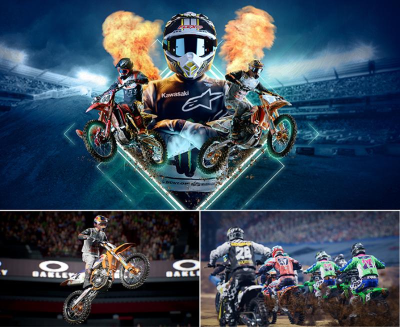 バイク専用SNS「モトクル」ユーザー限定!世界最高峰のモトクロスレースゲーム「Supercross 4」の発売を記念して3名様にプレゼント 記事1