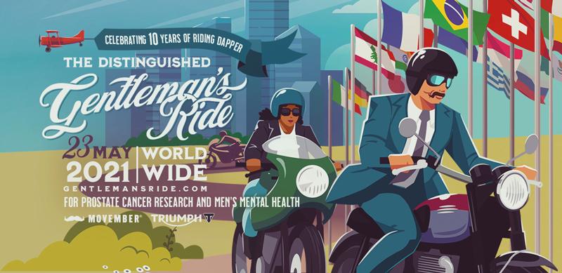 【トライアンフ】「2020 Distinguished Gentleman's Ride」のオフィシャルスポンサーとして8年目を迎える 記事1