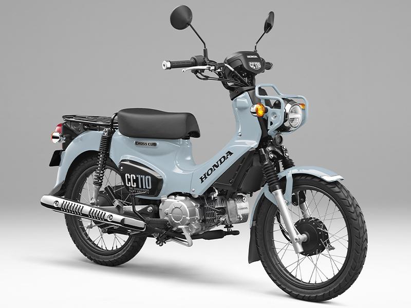 ホンダ クロスカブ110 プコブルー 2021年モデル 記事1