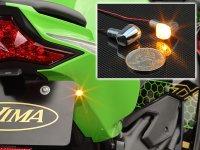 キジマの極小 LED ウインカー「Nano ランプ」シリーズにクロームメッキバージョンが登場 メイン