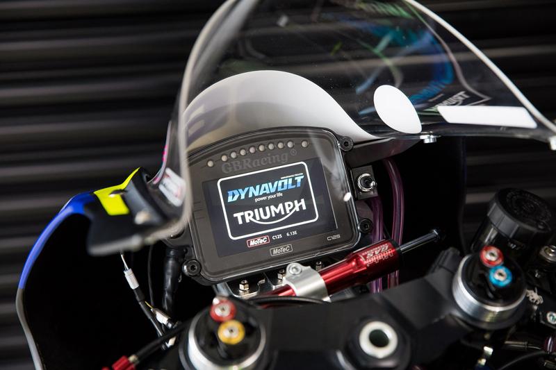 【トライアンフ】英国スーパーバイク選手権に「Dynavolt Triumph」として参戦! 車両はストリートトリプル RS ベース 記事3