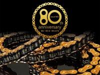 EK チェーンが装業80周年を記念した特別仕様のチェーンを2021年夏に発売! サムネイル