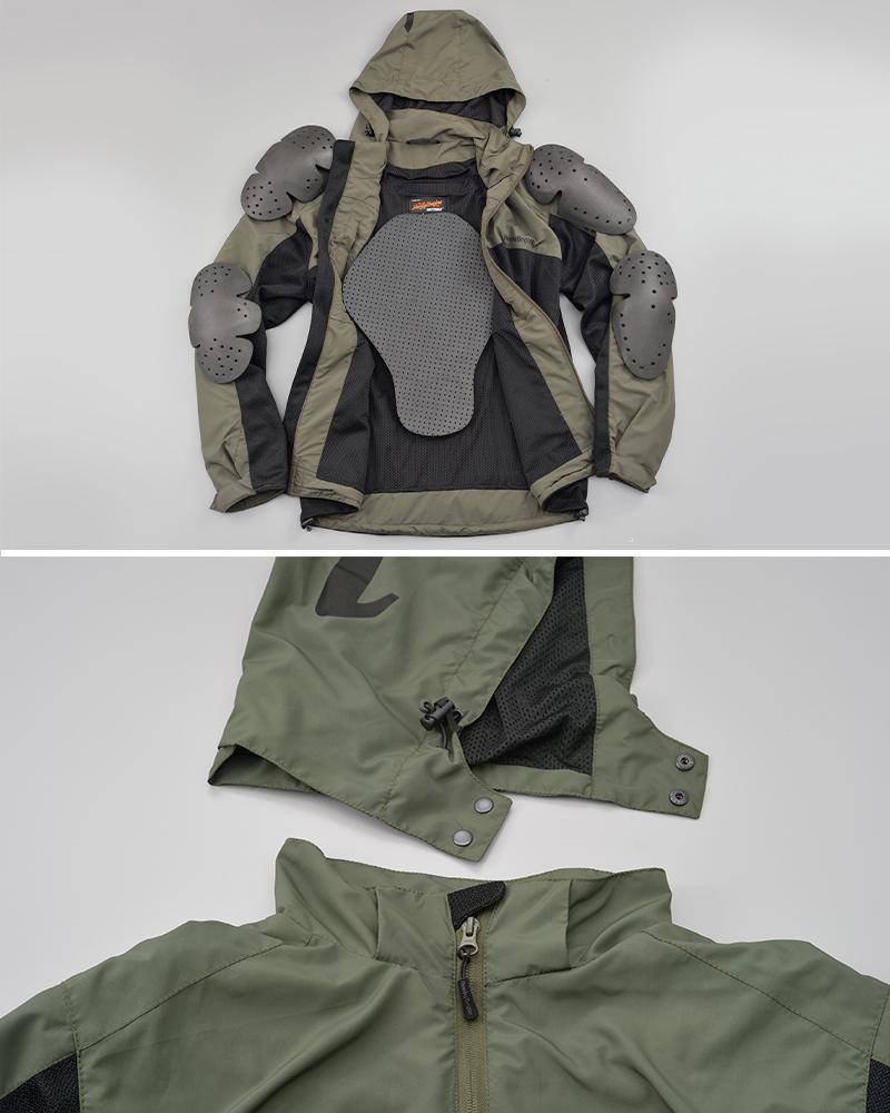 シンプルなデザインのメッシュパーカー「HBJ-059 フィールドメッシュジャケット」がデイトナから発売 記事2