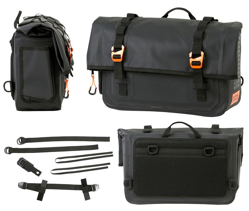 クルーザー用に設計された防水サドルバッグ「ターポリンサドルバッグ WP/WPS」がドッペルギャンガーから発売 記事7