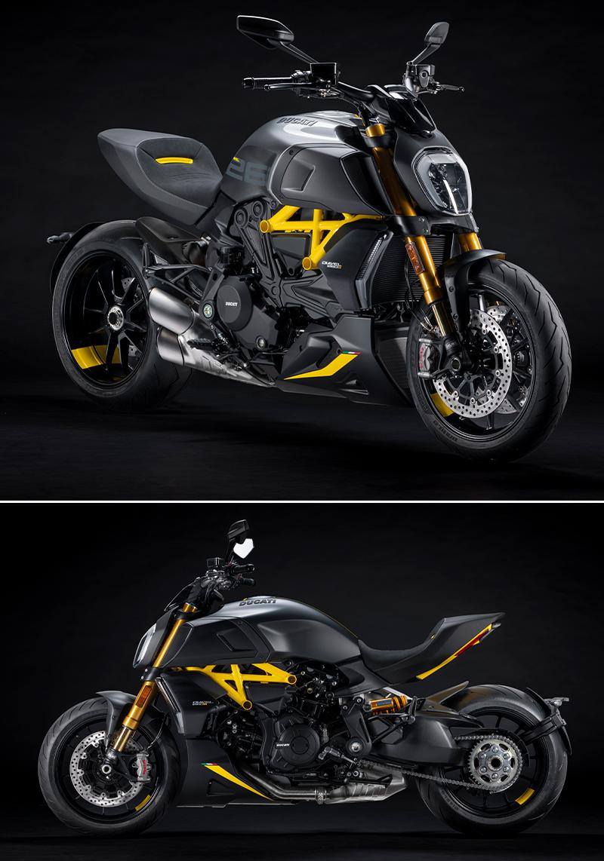 ドゥカティ ディアベル1260 S 2022年モデル ブラック&スチール 記事1
