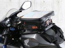 磁石が使えないタンクでも使えるベルト固定式!「タイダウンタンクバッグ DBT605-BK」がドッペルギャンガーから発売 メイン
