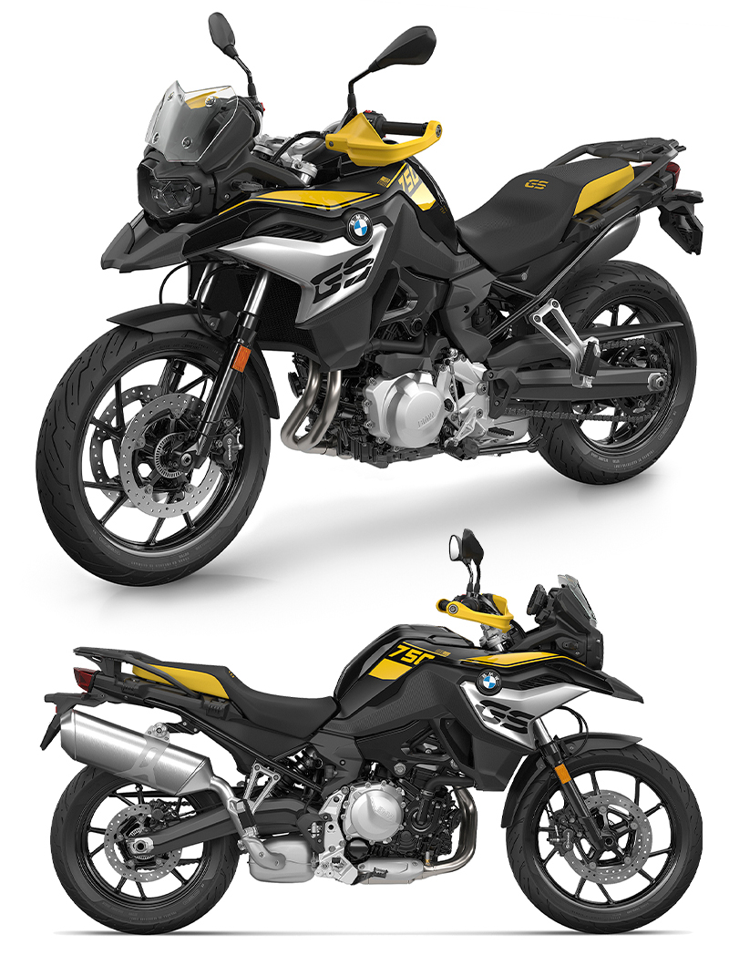 BMW F 750 GS 40 Years GS Edition F 850 GS 40 Years GS Edition 記事1