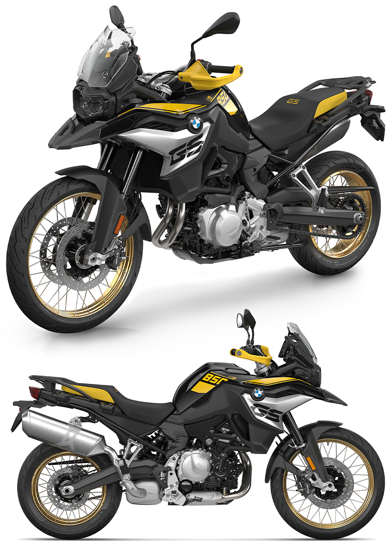 BMW F 750 GS 40 Years GS Edition F 850 GS 40 Years GS Edition 記事2