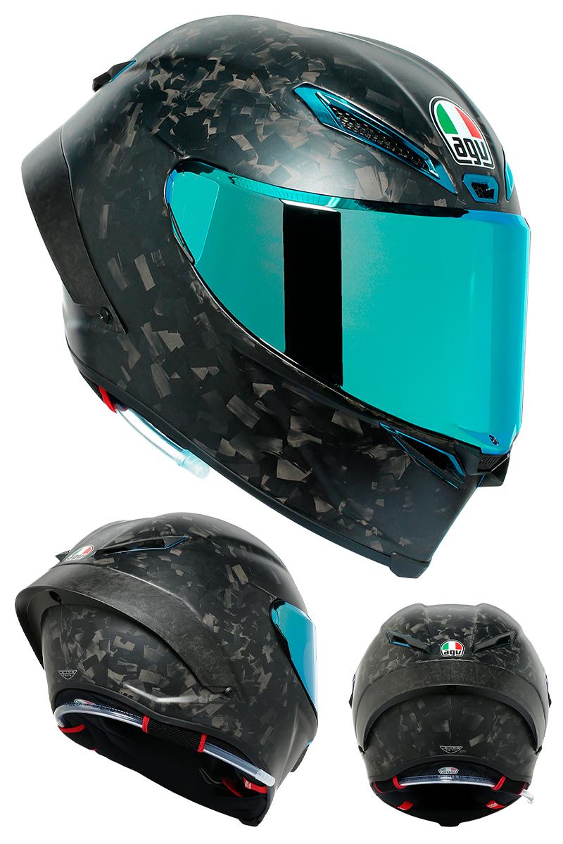 「フォージドカーボン」を採用した AGV 初のヘルメット「PISTA GP RR FUTURO」が登場 記事1