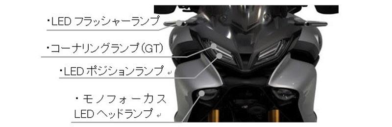 ヤマハ TRACER9 GT ABS 国内仕様 2021年モデル 記事5