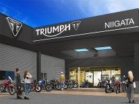 【トライアンフ】新潟全域をカバーする正規販売店「トライアンフ新潟」が7/5にグランドオープン メイン