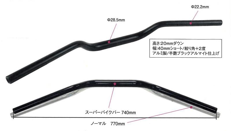 交換するだけで乗りやすさアップ! ポッシュフェイスからカワサキ Z900RS 専用のハンドルバーが発売 記事1