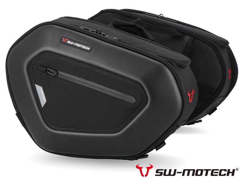 スタイリッシュな SW モテックのサドルバッグ「PRO BLAZE サドルバッグセット」がアクティブから発売中! メイン