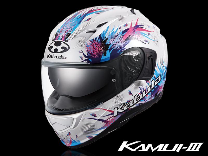オージーケーカブトから神秘的なデザインのグラフィックモデル「KAMUI-3 LEIA」が7月中旬発売 メイン